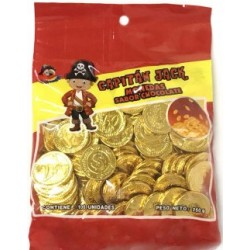 Moneda de Chocolate Jack x 100 u. Monedas