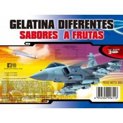 Avion Gelatina x 12. Gelatinas