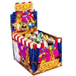 Huevo de Chocolate con Sorpresa Circus x 24 u. Huevos de Chocolates con sorpresa