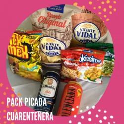 Pack Picada Cuarentena Productos