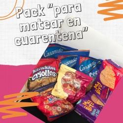 """Pack """"Para matear en Cuarentena"""" GALLETAS"""