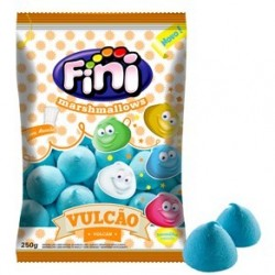 Marshmallow Volcán Azul Fini 250g Malvaviscos Volcan ( especial para derretir )