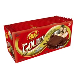 Chocolate BEL Golden Leche 90 Grs. x 10 u. Tabletas