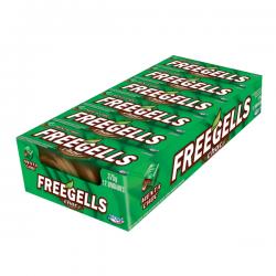 PASTILLAS FREEGELLS MENTA CON CHOCOLATE x 21 u. Pastillas