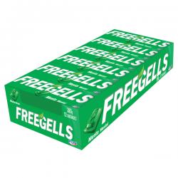 PASTILLAS FREEGELLS MENTA x 12 u. Pastillas