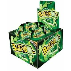 CHICLES BUZZY BOL RELLENOS MENTA x 60 u. Chicles