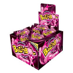 CHICLES BUZZY BOL RELLENOS TUTTI x 60 u. Chicles