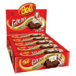Chocolate BEL Golden Leche 23 Grs. x 20 u. Tabletas