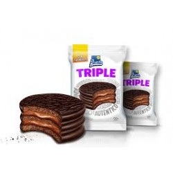 Alfajor Triple Chocolate x 12 u. Punta Ballena
