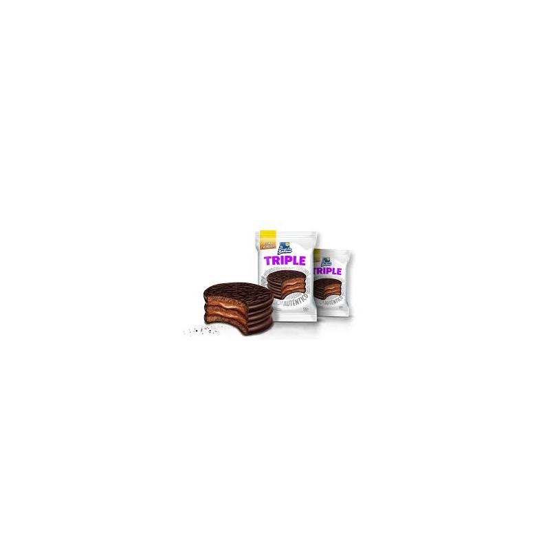 Alfajor Triple Chocolate x 12 u. Punta Ballena