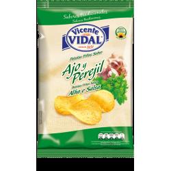 papas fritas Vidal AJO Y PEREJIL x 135 grs Papas fritas