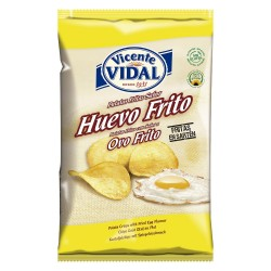 papas fritas Vidal HUEVO FRITO x 135 grs Papas fritas