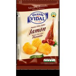 papas fritas Vidal JAMON x 135 grs Papas fritas